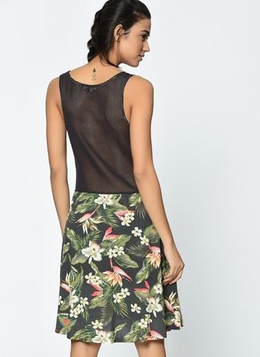 Askılı Çiçekli Elbise-Billabong